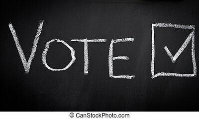 Vote in election