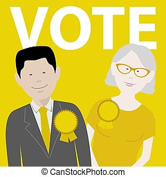 vote independent political candidates - two independent ...
