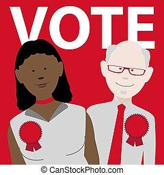 vote labour political candidates