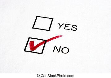 vote, non