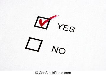 vote, oui