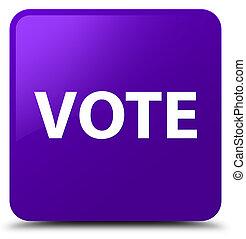 Vote purple square button