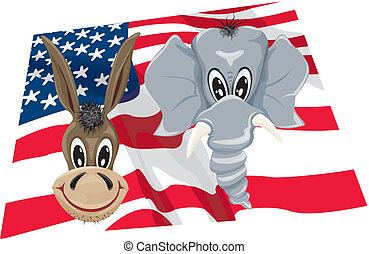 vote - usa - I go to the elections - my vote, my choice