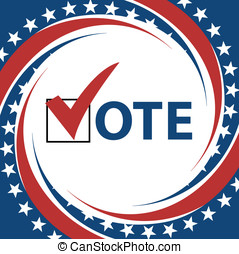 Vote - Voting Symbols vector design presidential election