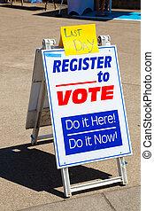 Voter Registration at the University of Oregon