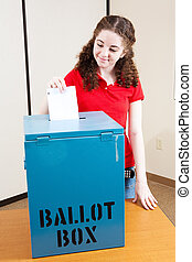 Voting For the First Time