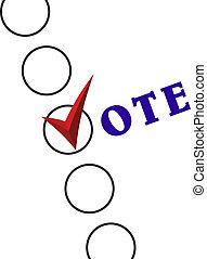 Voting Symbols.