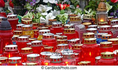 Votive candles