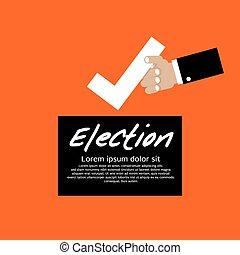 voto, election.