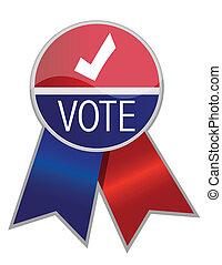 voto, fita