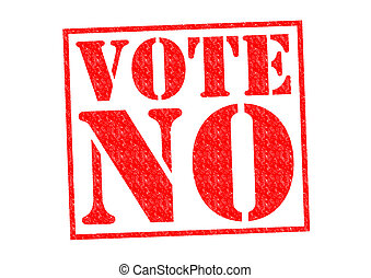 voto, no