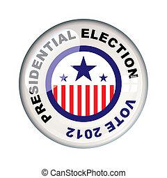 voto, presidencial, 2012