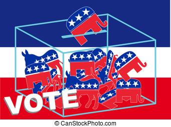voto, republicano
