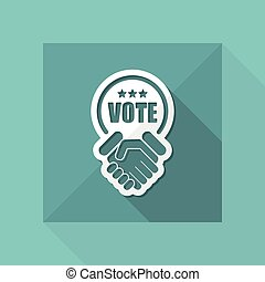 votos, acordo