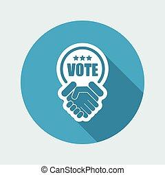 votos, acuerdo