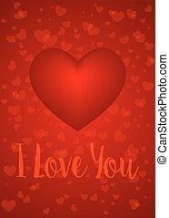 vous, amour, carte