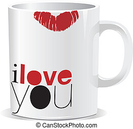 vous, amour, grande tasse