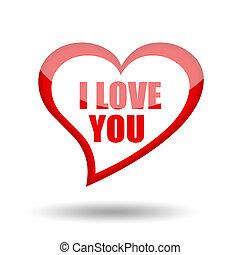 vous, amour, symbole