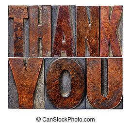 vous, bois, type, remercier