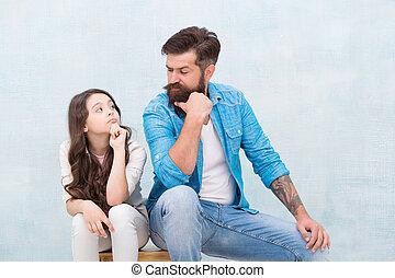vous, chaque, entre, family., regard, care., amour, aimer, marques, sentiment, homme, security., barbu, autre., petit, père, peu, confiance, relation, daughter., famille, girl