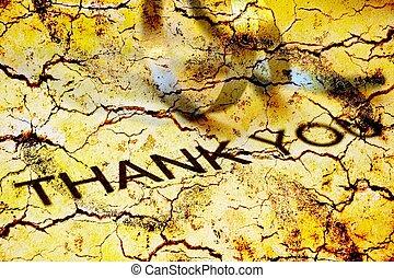 vous, remercier