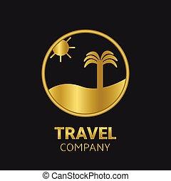 voyage, compagnie, logo