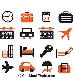 voyage, ensemble, signes