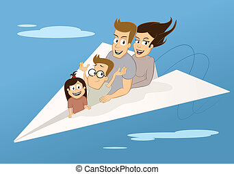 voyage, famille