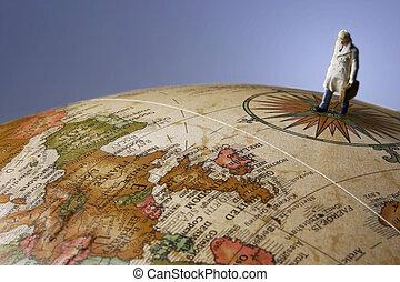 voyage, global, biz