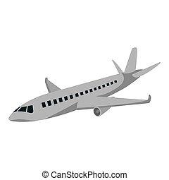 voyage international, avion, transport, baston