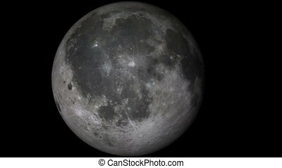voyage, lune