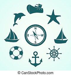 voyage, mer