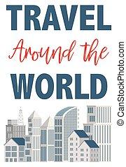 voyage mondial, autour de