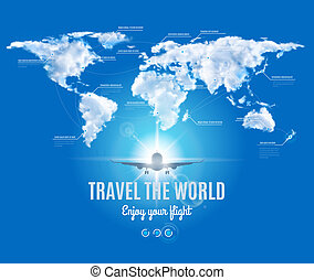 voyage mondial, conception