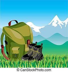 voyage, sac à dos