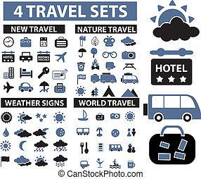 voyage, signes, 100