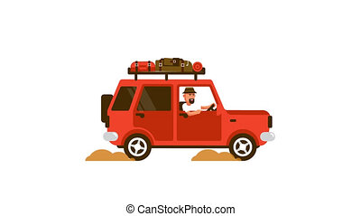voyages, voiture, bagage