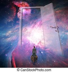 voyageur, espace