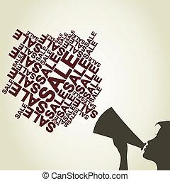 voz, ventas