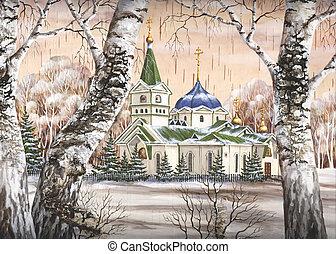 Voznesensky cathedral, Russia - Picture, Voznesensky...