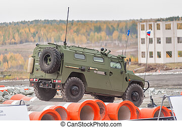 VPK-233115 Tigr-M armored vehicle (Russia)