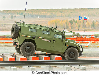 VPK-233115 Tigr-M armored vehicle