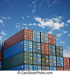 vracht, containers