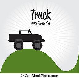 vrachtwagen, ontwerp