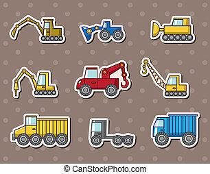 vrachtwagen, stickers