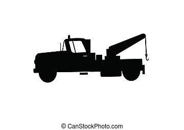 vrachtwagen, trekken