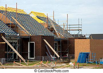vrai, construction, propriété