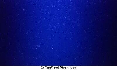 vrai, eau bleue, seamless, particules, boucle