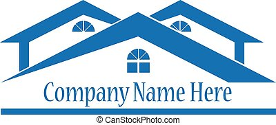 vrai, logo, propriété