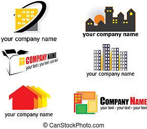 vrai, logos, propriété